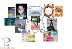 Een selectie leermiddelen uit de Welbevindenkoffer