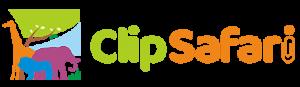Het logo van ClipSafari.