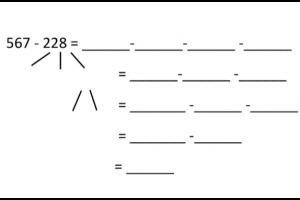 oefening van het type HTE - HTE