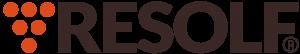 De logo en het woord Resolf.