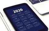 Kalender van 2020