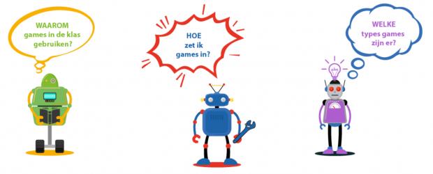 Robotjes met tekstballonnen