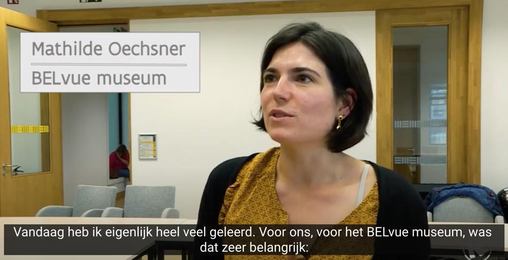 Reactie van BELVUEmuseum