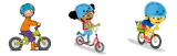 Gratis Jules fietshelmen