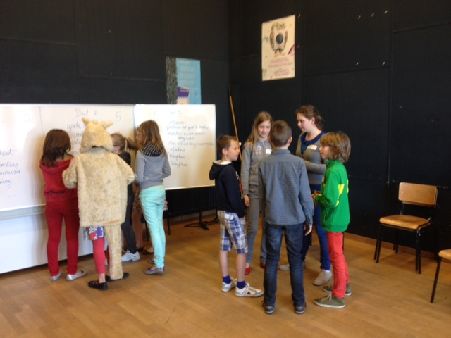Academie Izegem traject 'Where the wild things are'