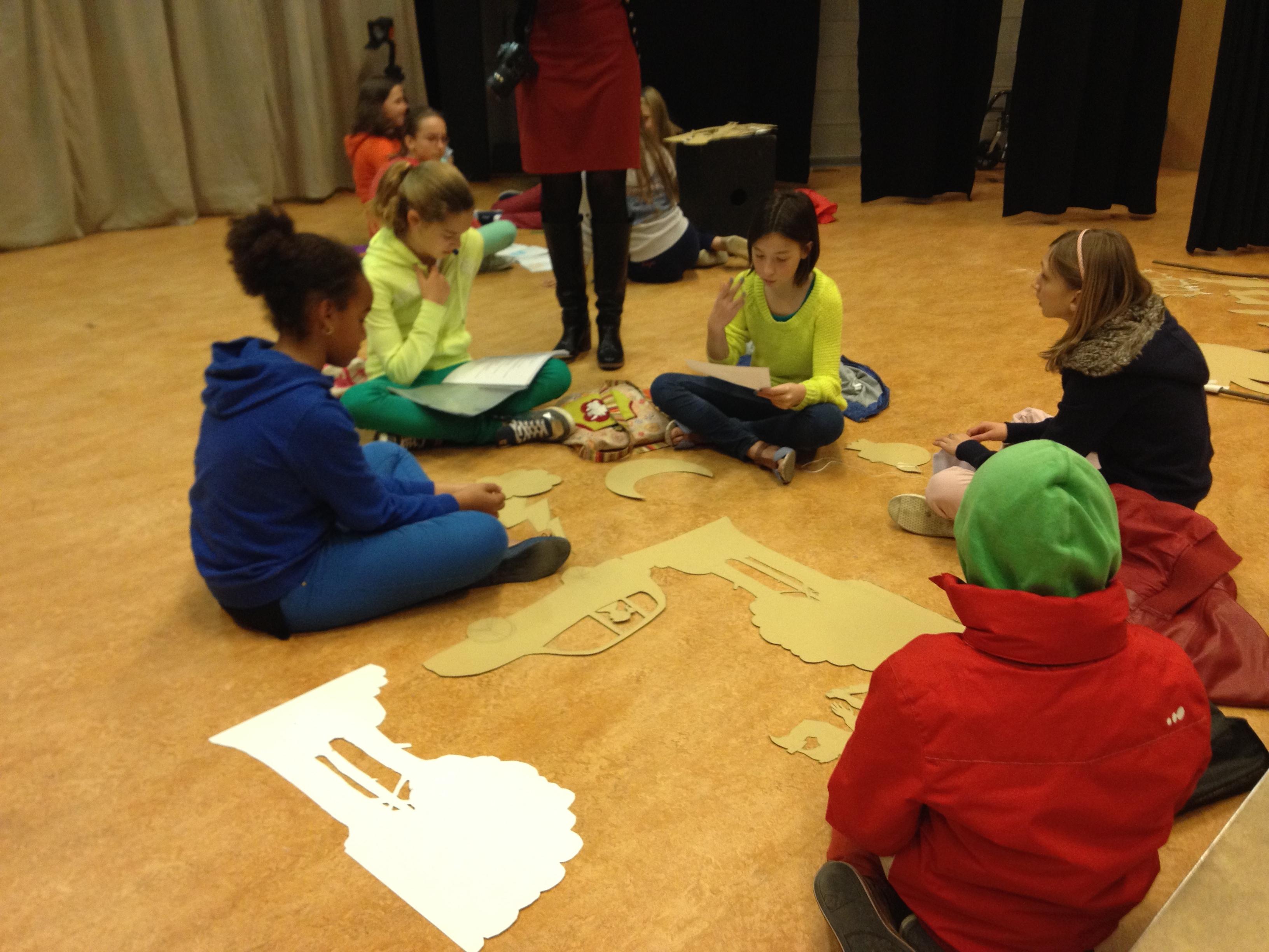 Academie Izegem traject schimmenspel