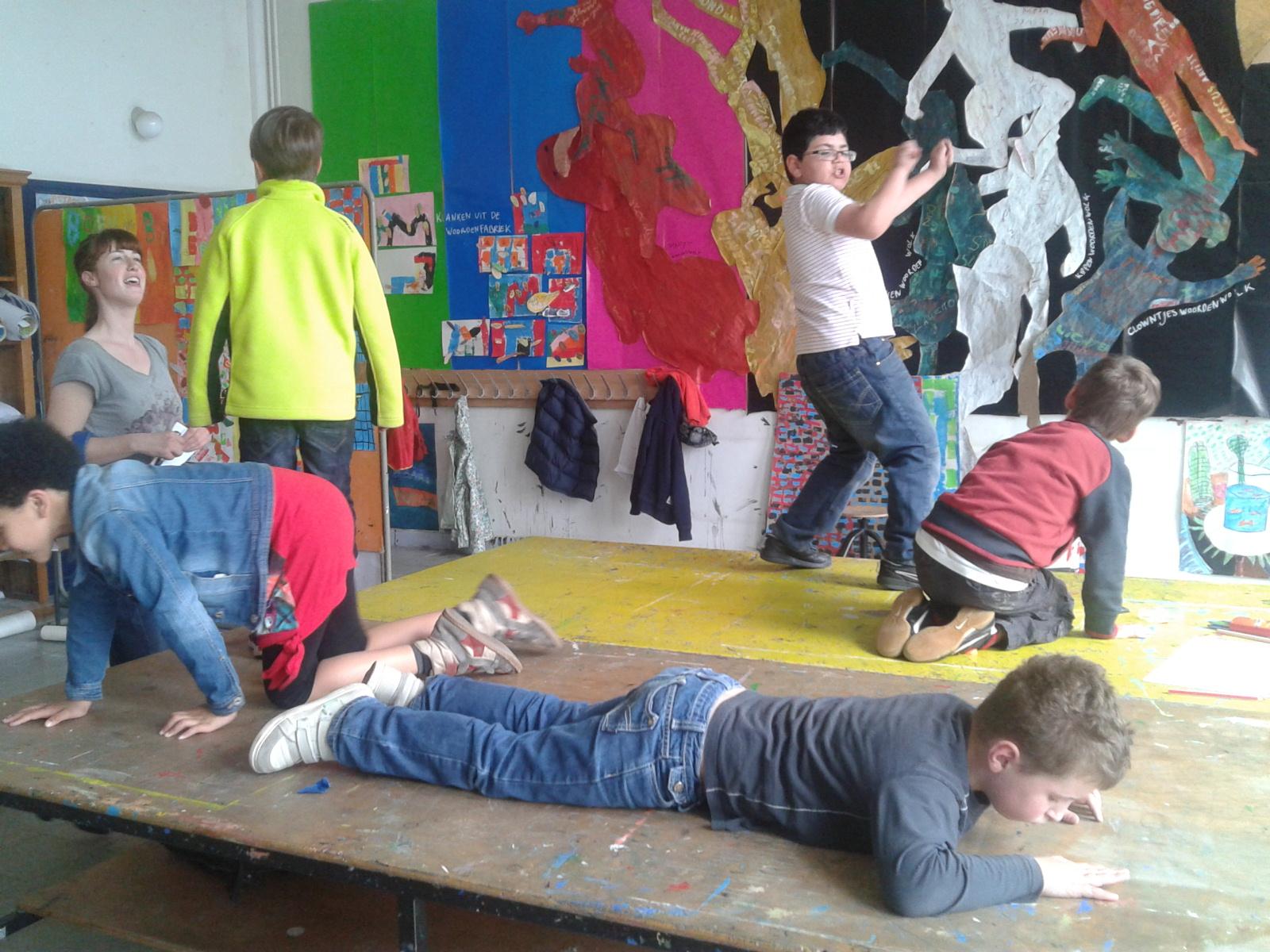 Academie Mechelen - traject vertrekken van andere discipline, eindigen met eigen discipline (beeldende kunst)