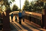 Familie op wandel
