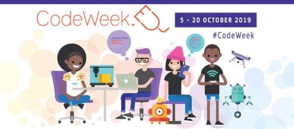 Logo EU Codeweek 2019