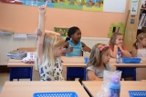 Vinger opsteken in de klas