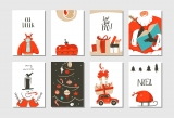 collectie kerstkaarten