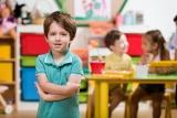 Jongen in de klas
