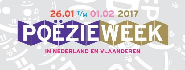 Logo Poëzieweek 2017