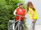 dames en fiets