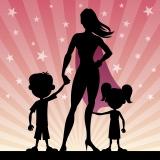 Moeder is een heldin!