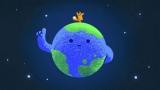 Cartoon van de Aarde