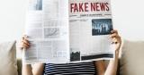 Krant met 'fake news' al titel