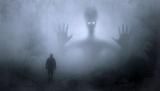 Spook in het bos
