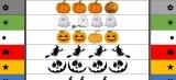 Halloween knijpkaart