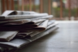 Stapel met kranten