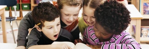 Leerlingen lezen