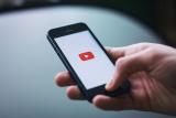 YouTube op een smartphone