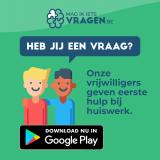 Poster over app die je leerlingen helpt bij huiswerk