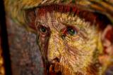 Geschilderd portret van Van Gogh