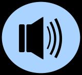 Pictogram van geluid