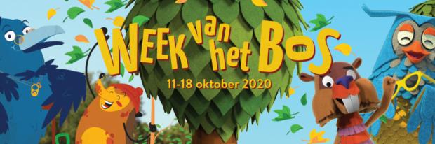 Logo week van het bos