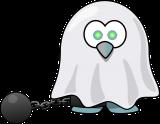 Visual van spookje