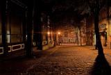 's nachts op straat