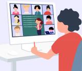 Visual over webinar