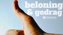 Beloning en gedrag: duim
