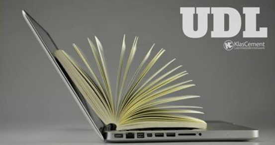 UDL laptop boek