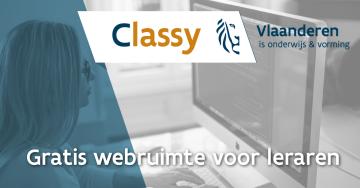 Classy: gratis webruimte voor Lerarenkaarthouders
