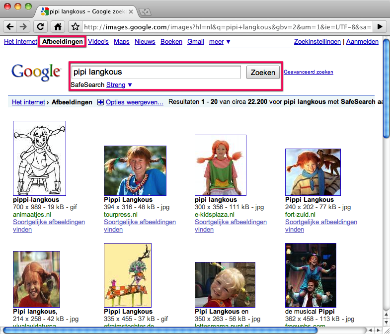 Kleurplaten En Zo Zoeken.Kleurplaten Vinden Met Google Afbeeldingen Artikel Klascement
