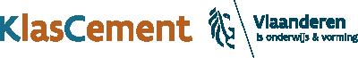 Logo van KlasCement op een transparante achtergrond