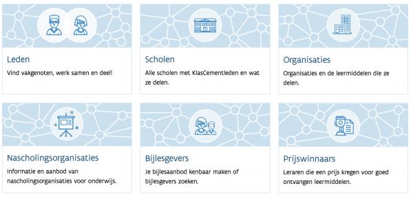 Schermafbeelding netwerk-pagina