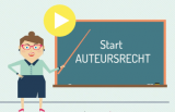 Auteursrechtaffiche bij Mediawijs.be