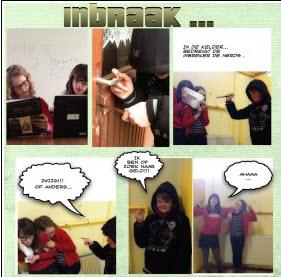 Stripverhaal maken met de iPad